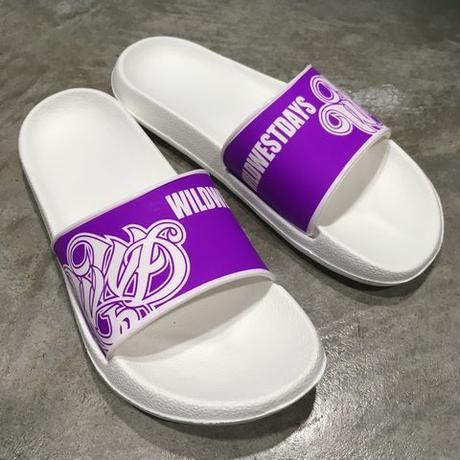 WILDWESTDAYS Slipper / 01 (White / Purple)