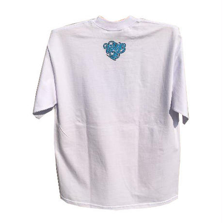 STREETGAME.T / SGFIRE(Heavy Weight) (White / Sky Blue)
