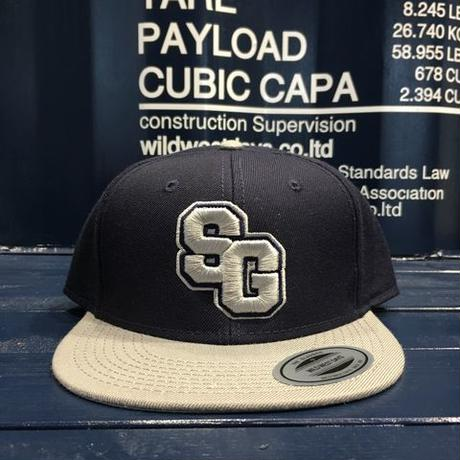 "STREET GAME CAP  ""SG"" (Navy/Gray)"