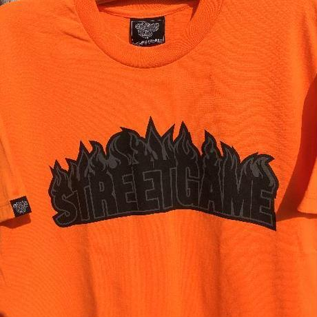 STREETGAME.T / SGFIRE(Heavy Weight) (neon orange / black)