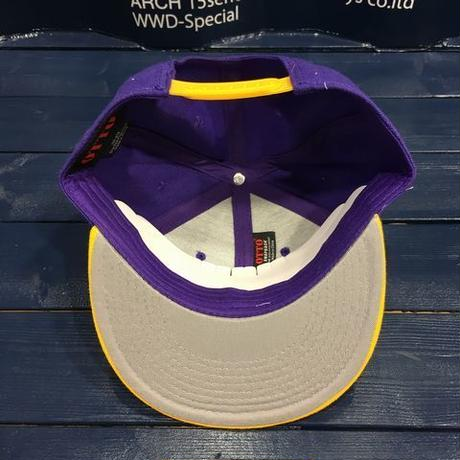 "STREET GAME CAP  ""SG"" (purple/yellow)"