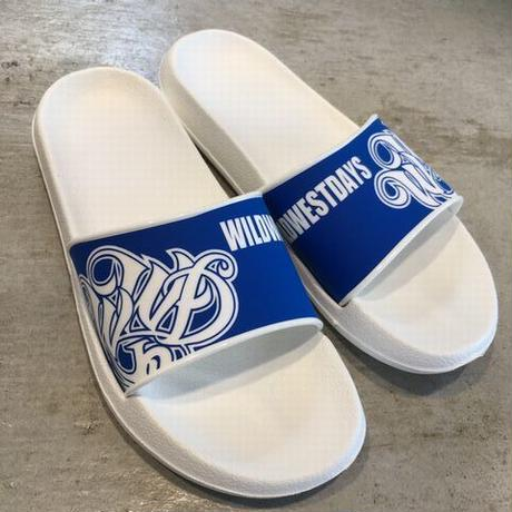 WILDWESTDAYS Slipper / 01 (White / Royal Blue)