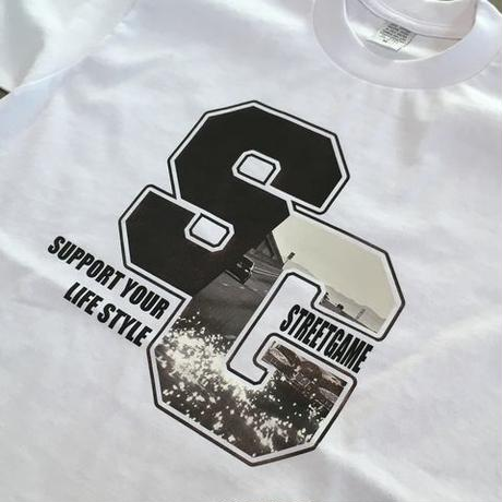 STREETGAME PHOTO.T-shirt/SG(Heavy Weight)(White)
