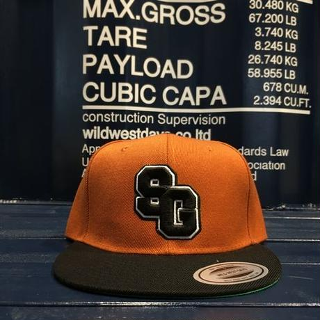 "STREET GAME CAP  ""SG"" (Brown/Black)"