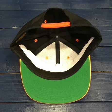 "STREET GAME CAP  ""SG"" (Black/NeonOrange)"