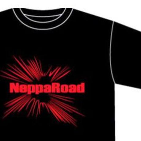 【Tシャツ】井上勝正率いる熱波道から誕生「NeppaRoad」孤独に火をつけ、 熱さに口を閉ざし、 寒々にこそ言葉を添えろ。 哀しみよ、極限の地へ。