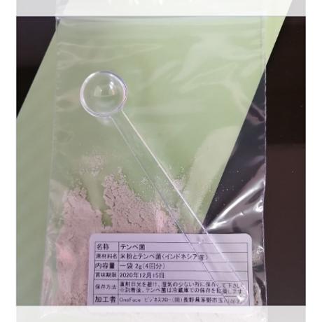 テンペ菌のみ(追加4回分)