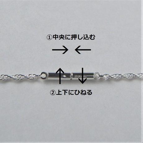 ハート型チャーム シルバー925 ネックレス