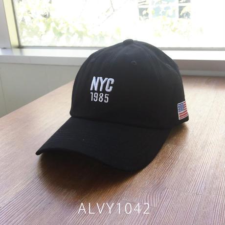 【COOL&CUTE】大人気のマストハブキャップ☆ NYC1985刺繍入りキャップ(帽子)