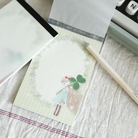 ミニ便箋 〜 Clover 〜