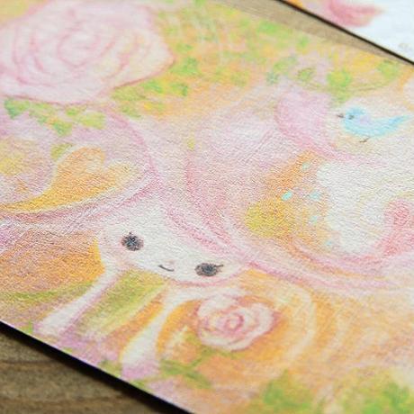 ポストカード - rose -