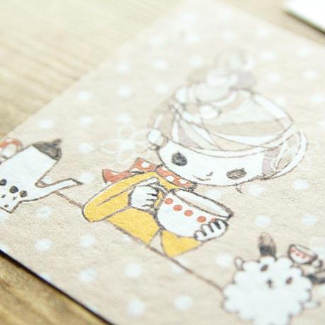 ポストカード - milktea -
