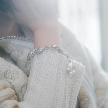 yukino_selec† × Cilsoie ×❄︎   トロリウス  ブレスレット フォググレー