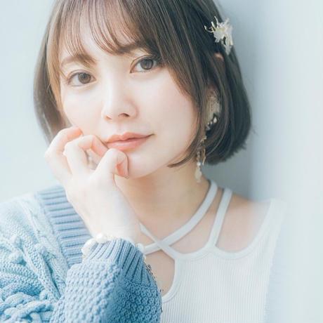 yukino_selec† × Cilsoie ×❄︎   トロリウス 耳飾りピアス・イヤリング・ ムーンライトホワイト