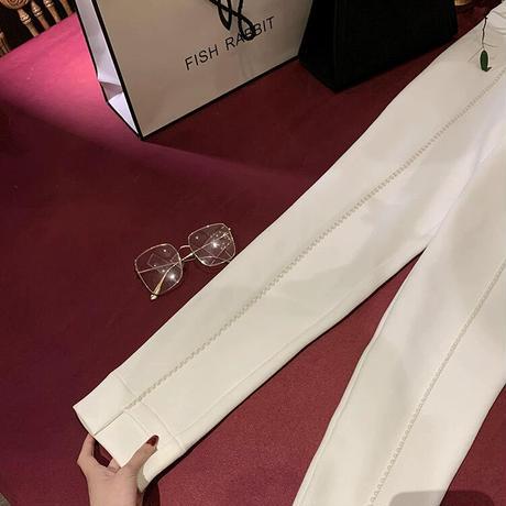 パールカジュアルストレートpants