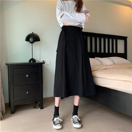 Aラインハイウエストスカート