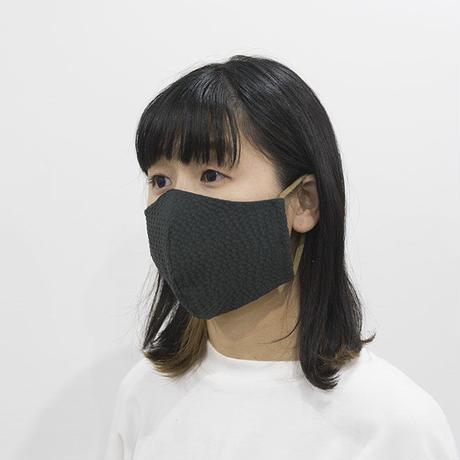 凹凸マスク / ネイビー