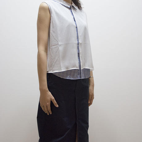 conic on gingham