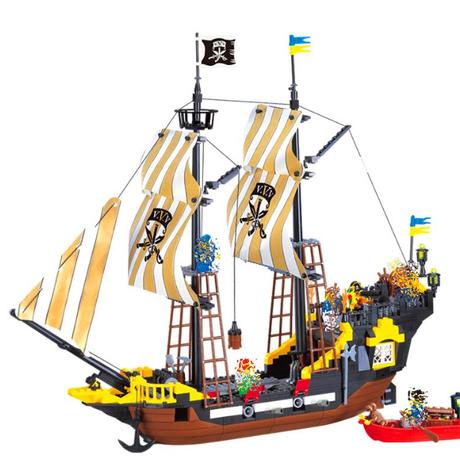 レゴ風 レゴ互換性 LEGO パイレーツ 海賊 アン女王の復讐号 セット