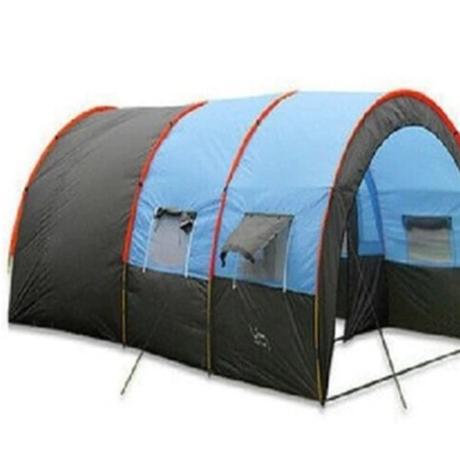 キャンプ テント アウトドア かまぼこテント ドーム 5~8人 防水 ファミリー