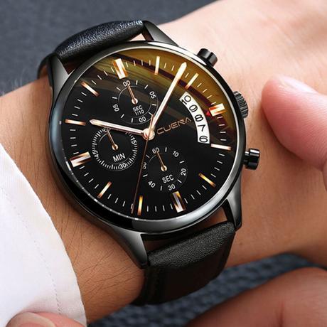 腕時計 メンズ 高級 レザー ベルト 通販 機械式 丸 トップブランド カジュアル スケルトン