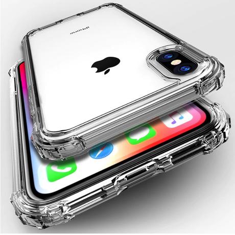 アイフォンケース iPhone X XS 8 8Plus XR XS Max 7 7Plus 透明 ローズゴールド グレー TPU