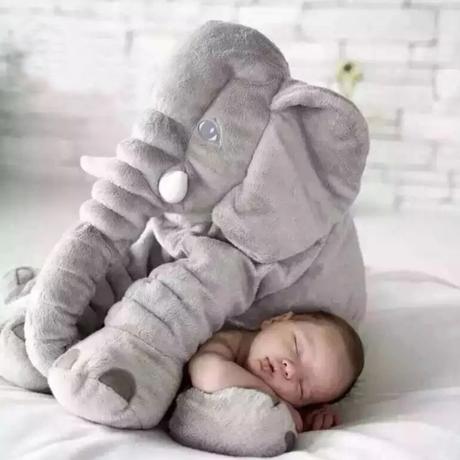 ぬいぐるみ 巨大 抱きまくら 特大 象 赤ちゃん クッション 40cm 枕 妊婦 人形 通販 大きい でかい 激安 販売