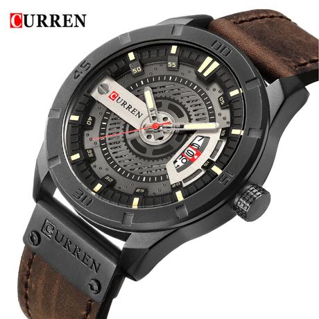 腕時計 メンズ 高級 オマージュ レザー ベルト 通販 機械式  トップブランド カジュアル クロノグラフ クォーツ