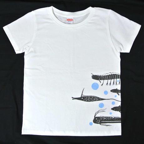 魚群Tシャツ レディース
