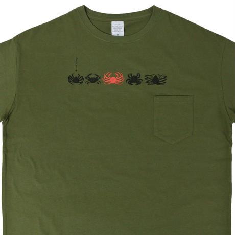 食用蟹 ビッグシルエットTシャツ