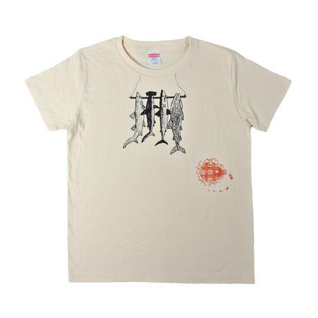 鮫めざしTシャツ レディース