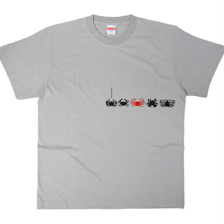 食用蟹Tシャツ メンズ