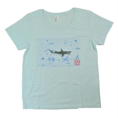 鮫Tシャツ レディース