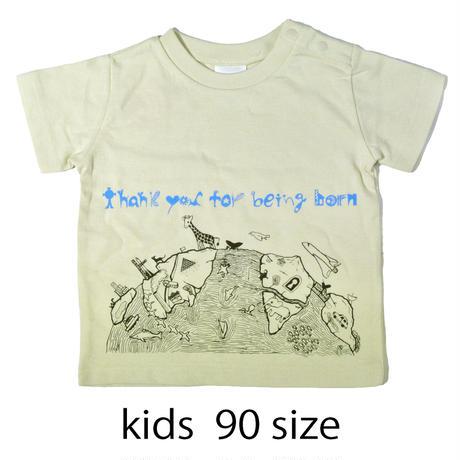 生まれてくれてありがとうTシャツ ベビー