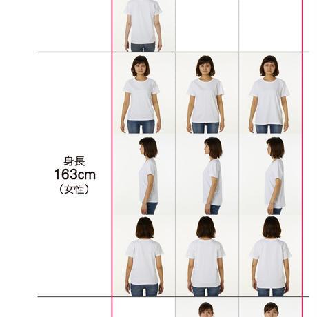 地球のカエルTシャツ レディース