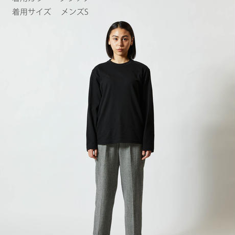 刺胞動物クラゲ 長袖Tシャツ メンズ