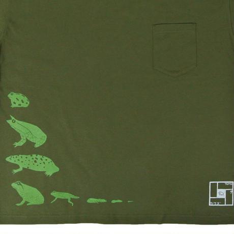 地球のカエル ビッグシルエットTシャツ