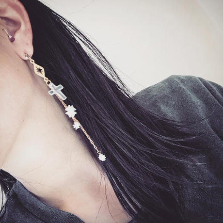 STELLA E CROCE  single earring