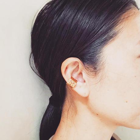 ARABESCO ear cuff :brass