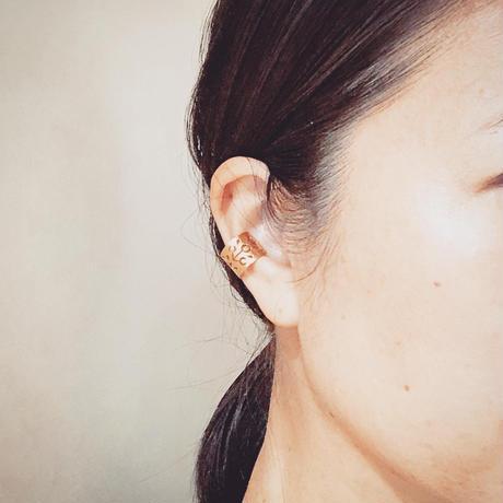 ARABESCO  ear cuff : silver