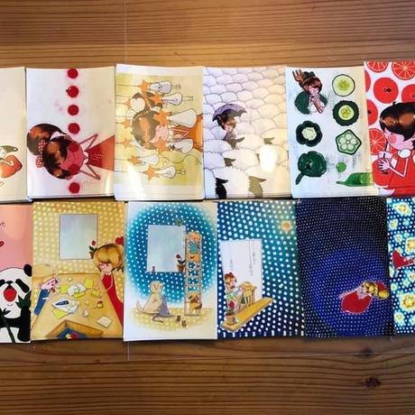 【 ユコちゃん救出大作戦! 】ユコちゃん色々ポストカードセット