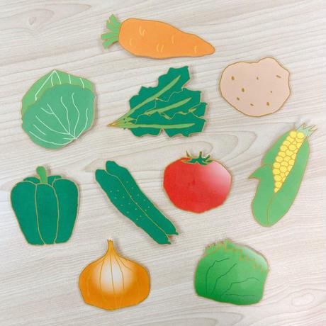 ボア単語セット『野菜」