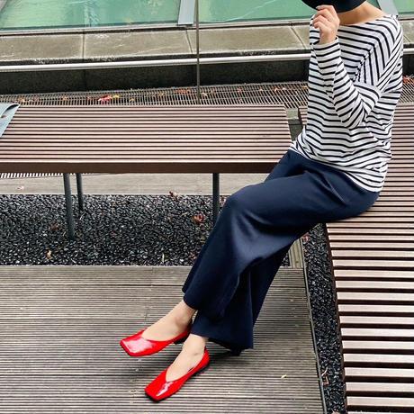 yuko imanishi+ 711067 TSUKUSHI  RED PATENT