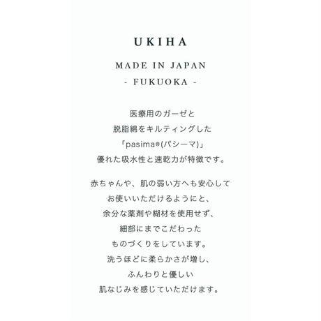 UKIHA バスタオル Snow   60 × 120 cm