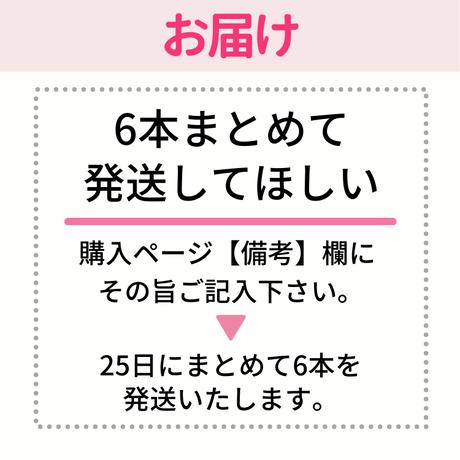 【定期便】 半年分(6本+特典 粉末無料)