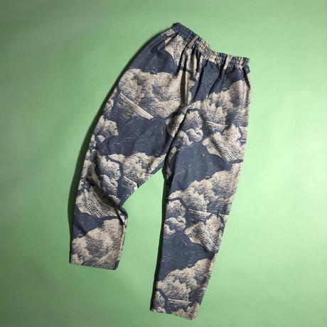 C/T print easy pants
