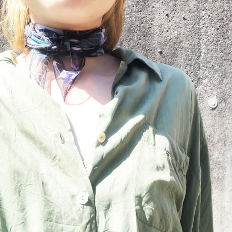 オーガンジースカーフ
