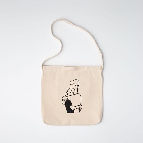 """2WAY Tote bag """"Boy and Girl"""""""