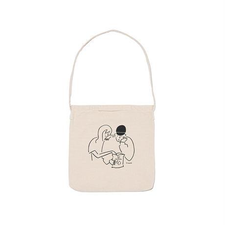 """2WAY Tote bag """"Yu Nagaba x  Calbee 1"""""""