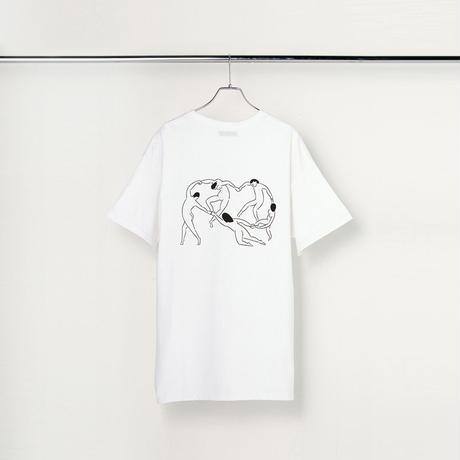 "T-shirt ""Dance"" White"